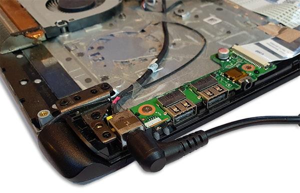 Laptop laadt niet meer op reparatie