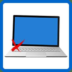 Laptop scharnier reparatie