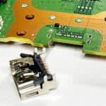 HDMI poort verwijderen Playstation 5 HDMI reparatie